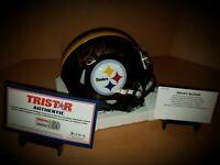 Rocky Bleier Pittsburgh Steelers Signed Autographed NFL Mini Helmet Tristar COA