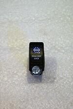 REAR DIFF LOCK BLUE ROCKER SWITCH LED FOR ARB WARN GQ 80 HILUX NISSAN JEEP EATON