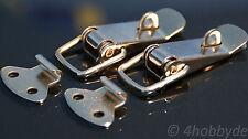 2x Edelstahl Spannverschluss - Kistenverschluss, Hebel-Verschluss abschließbar