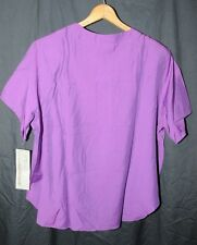Blouse By Sydney Bordeaux  Vintage/New With Tags!   ( Purple )  Size 22W