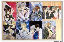 Vampire Knight Manga Lot de 8 Cartes Postal V ヴァンパイア骑士