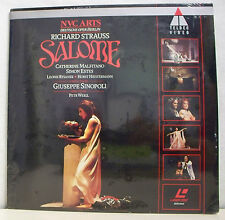 SALOME Film LASERDISC Neuf ! RICHARD STRAUSS - NTSC TELDEC VIDEO 9031738276 RARE