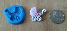BABY BOY GIRL trasporto CARROZZINA stampo Stampo Sugarcraft Decorazione Torta FIMO CLAY