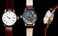 Rare Qte' Salter watch with a high-grade Swiss movement, caliber Jules Huguenin