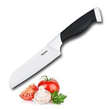 "New England Cutlery Ceramic Santoku Knife, 5"", Black"