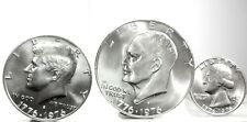 United STATES-USA (Bicentenary-3 COINS) 1976