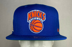 Mitchell and Ness NBA New York Knicks HWC High Crown Fitted Hat, Cap, New