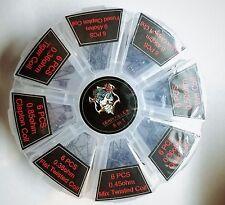Demon Killer 48PC Twisted/Fused/Clapton/Quad/Hive/Alien RDA Pre Made Coils USA