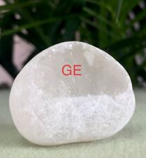 Clear Quartz Ema Egg Crystal Quartz Specimen Window Seer Meditation Stone Reiki