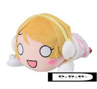 SEGA Love Live! Mega Jumbo Nesoberi stuffed Hanayo Koizumi-Snow halation japan