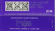 St VINCENT 1979 ROWLAND HILL CENTENARY $7.80 COMPLETE UNEXPLODED BOOKLET