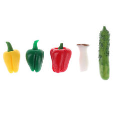 1/12 Dollhouse Miniature Vegetables Model Mini Food Play Accessories ToysSPU_ws