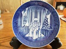 Royal Copenhagen Christmas Plate 1991 - The Festival Of Santa Lucia