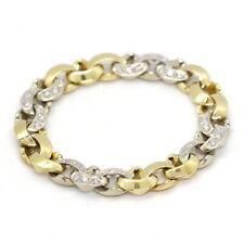 Armband Gliederarmband Pomellato 750er Gelbgold Weißgold 3,6 ct Diamanten (10274