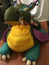 """JUMBO Nod Dragon Giant Ride on Plush 55""""  Ballistic Nylon 1997 MANHATTAN TOY CO"""