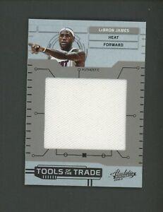 2010-11 Absolute Memorabilia TOTT LeBron James Jumbo Jersey 46/49 Heat