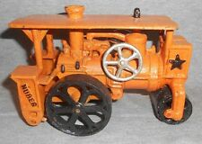 HUBER STEAM ROAD ROLLER CAST IRON ROAD CONSTRUCTION TOY Steam Traction Engine