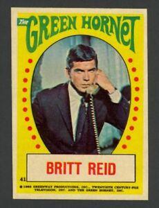 Britt Reid 1966 Donruss Green Hornet Stickers #41 - NM-MT