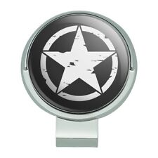 Oscar Mike On Mission Move Militar Star Golf Hat Clip With Magnetic Ball Marker