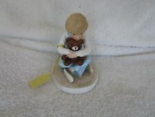 "Romans Francis Hook ""Bear Hug"" From A Child'S World 1999 Figurine ~Lovely Item!"