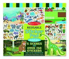 Melissa and Doug Reusable Sticker Pad Habitats
