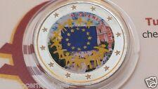 2 euro 2015 Slovenia colorato Slovenie Slovenija Slowenien bandiera flagge flag