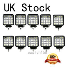 10pcs 48W LED Car Work Light Bar Flood ATV Offroad Jeep Truck Lamps SUV 12V-24V