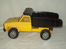"Vintage 1983 ~ ""Tonka"" ~ Yellow Chevy Dump Truck ~ Pressed Steel Toy Truck"