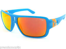CEBE unisex L.A.M sunglasses BLUE ORANGE/ 1500 Fire Red MIRROR CAT.3 Lens CBLAM2