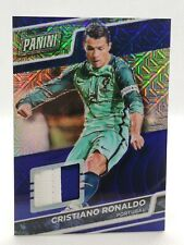 2016 PANINI NATIONAL VIP ⚽ CRISTIANO RONALDO 💎 BLUE MOJO PRIZM 💎 PATCH 6/25