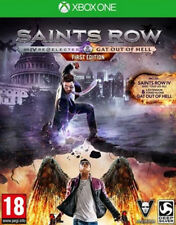 Saints Row IV: Re-Elected & GOOH First Edition NO DLC Xbox One free delivery