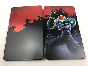New Metroid Dread Special Edition Steelbook ONLY NO GAME / Nintendo Switch