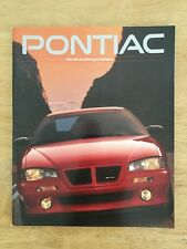 1993 Pontiac Full Line Up Brochure 94 Pages