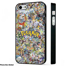 POKEMON CARTOON COLLAGE ART PHONE CASE FOR IPHONE 4S 5 5S 5C 6 6S 7 8 SE X PLUS