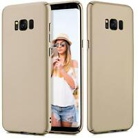 Samsung Galaxy S7 Hülle Tasche Case Cover Handy Backcover Handyhülle Gold