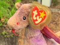 Ty Beanie Baby Babies Scorch Teddy Plush Stuffed Animal Toy RARE Number 403 PE