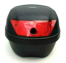 Renntec 28L Motorcycle Scooter Top Box Case 28 Litre NO LOCK