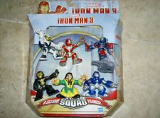 6x Ironman 3 Figures approx. 2.25 inch 6cm Tall Marvel Comics Superhero Toys