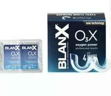 BlanX O3X Supreme White Trays 2 x Pre filled Trays -Oxygen Power * Pack Of 2 *