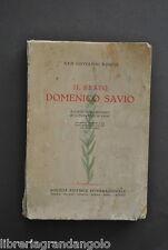 Giovanni Bosco Beato Domenico Savio Oratorio S. Francesco Sales Salesiani 1950