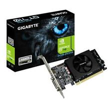 GIGABYTE GeForce GT 710 2gb Gddr5 Single Fan Cooling System Low Profile Graphics