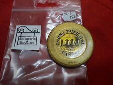 JETON DE CASINO CANNES MUNICIPAL VALEUR 1000 - REF36119