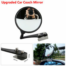 Black Coach Car Auxiliary Mirrors Retro Reflective Mirror Car Front Wheel Mirror