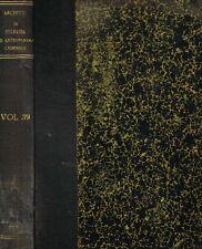 ARCHIVIO DI ANTROPOLOGIA CRIMINALE, PSICHIATRIA E MEDICINA LEGALE vol. XXXIX