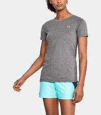 Under Armour Women's UA HeatGear® Armour Short Sleeve size: XS Grey