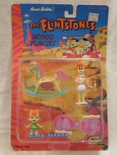 Flintstones 1993 Boley Action Playset - Wilma & Pebbles Flintstone MIP
