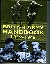 British Army Handbook 1939-1945, George Forty  1st UK, HBdj VG