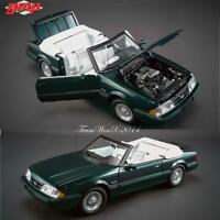 GMP 1990 Ford Mustang LX Convertible 7-Up edition Diecast Car 1:18 NEW!!