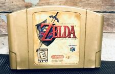 Legend of Zelda Ocarina of Time Gold Collector Edition Nintendo 64 AUTHENTIC N64