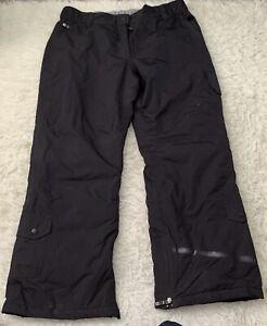 Glacier Point Womens size 16 Black Ski Waterproof Trousers